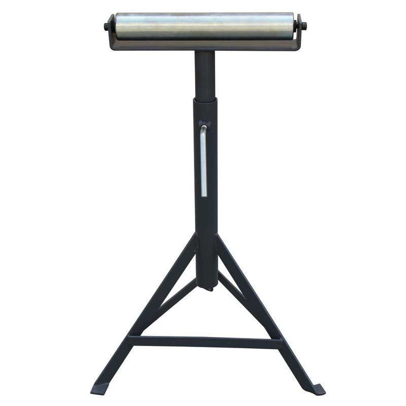KAKA RB-1000 Super Duty Adjustable 23-Inch to 38-Inch Tall Pedestal Roller Stand with 11 -Inch Ball Bearing Roller, 330 Lbs. Material support