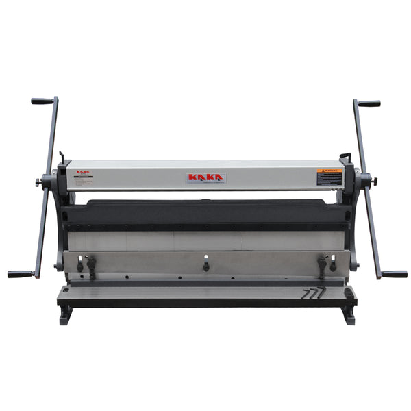 kaka 3-IN-1/1016 40-In Sheet Metal Fabrication Machines, Guillotine, Brake and Rolling Machine