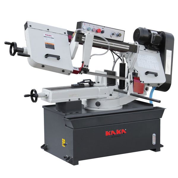 KAKA Industrial Metal Cutting Band Saw Machinery, 10 inch Cutting Band Saw BS-1018R