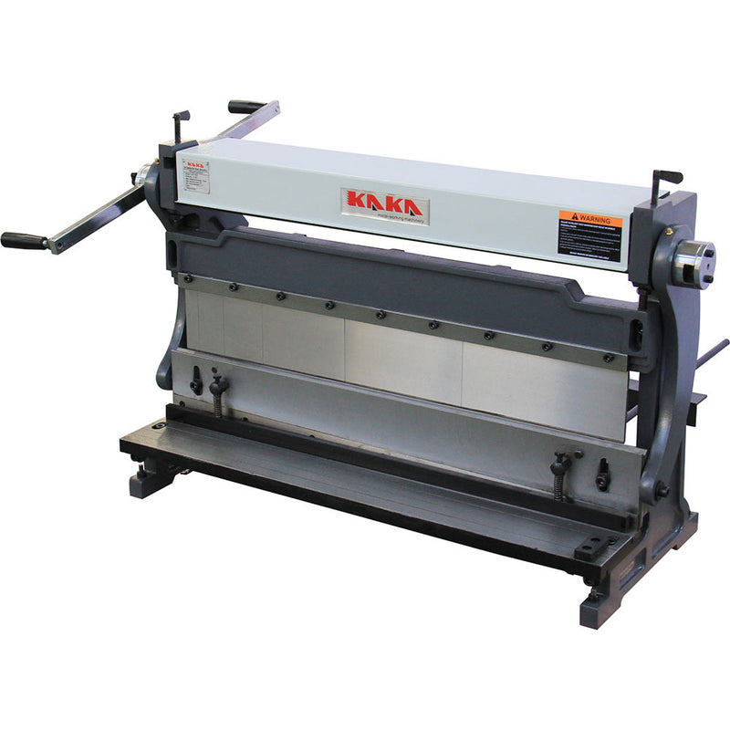 Kaka 760mm Sheet Metal Brake, 3-In-1 Shear Brake Roll Combinations