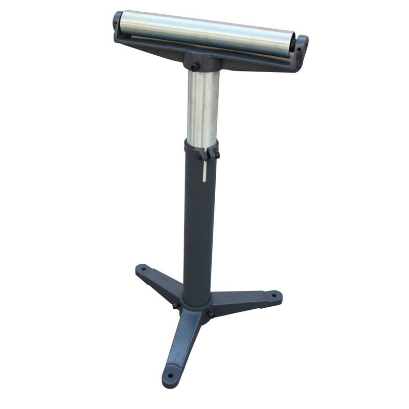 KAKA Stands and Supports KAKA RB1100 Super Duty Adjustable 24-Inch to 43-Inch Tall Pedestal Roller Stand with 12-Inch Ball Bearing Roller, 600 Lbs. Material support