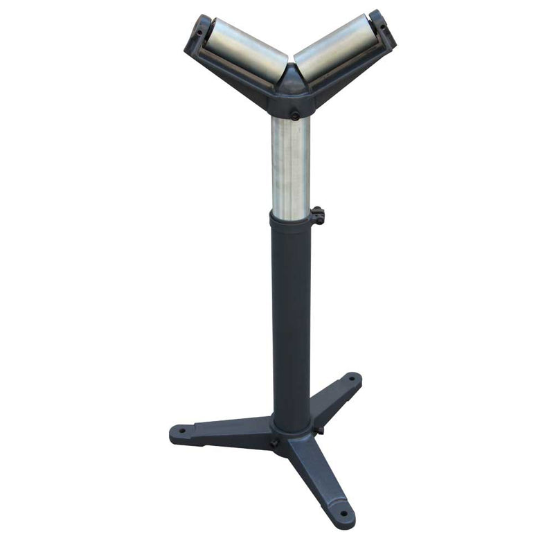 KAKA Stands and Supports RV-1100,Pipe Stand V head Roller Super Duty Adjustable 24-Inch to 43-Inch Tall