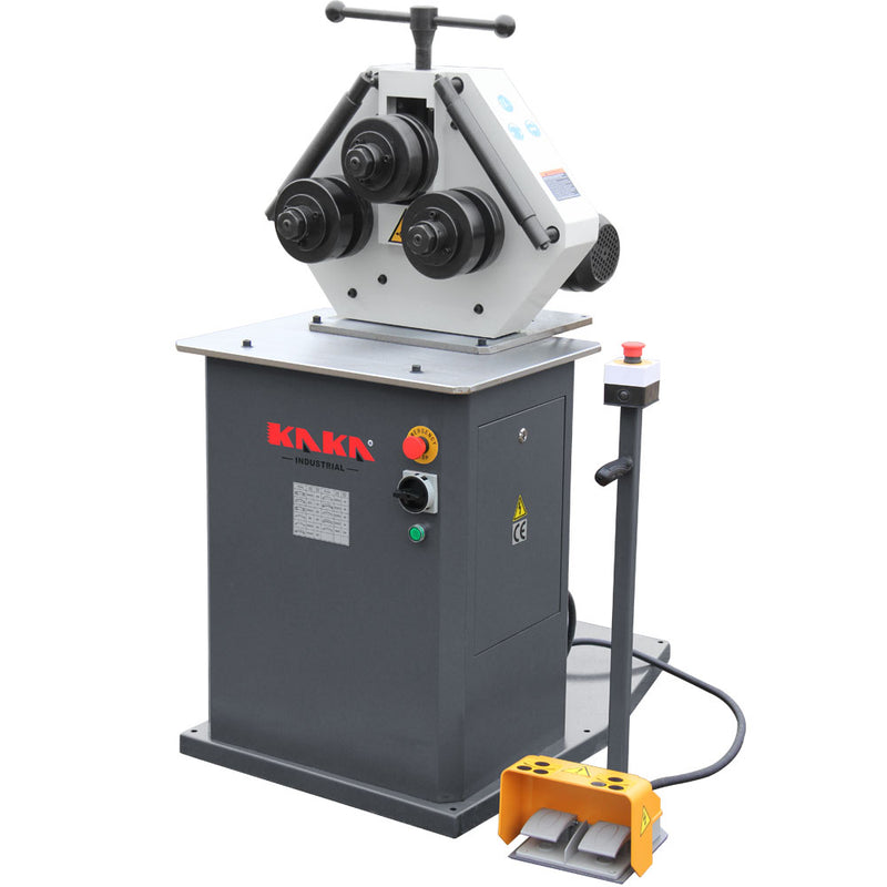Kaka Industrial RBM-30HV Electric round bending machine, section rolling machine
