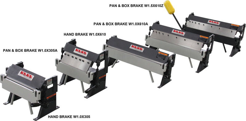 KAKA Industrial W1.0X305A High Accuracy Sheet Metal Box Pan Brake