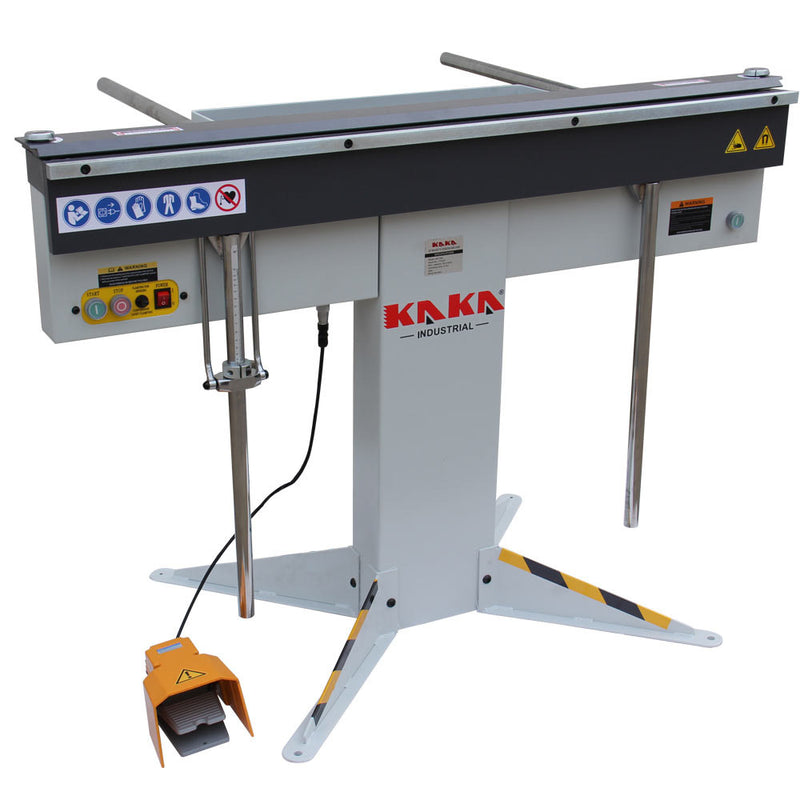 KAKA Industrial EB-4816, 1250mm Magnetic Bending Machine 16-Gauge Mild Steel Capacity