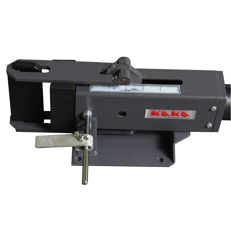 KAKA Industrial 4-Inch Hand Operated Steel Bending Brake, High Flexibility, Easy Operation Sheet Metal Forming Bender