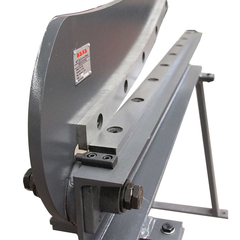 Guillotine Shear Hs-1000 Gauge Sheet Metal Fabrication Plate Cutting Cutter