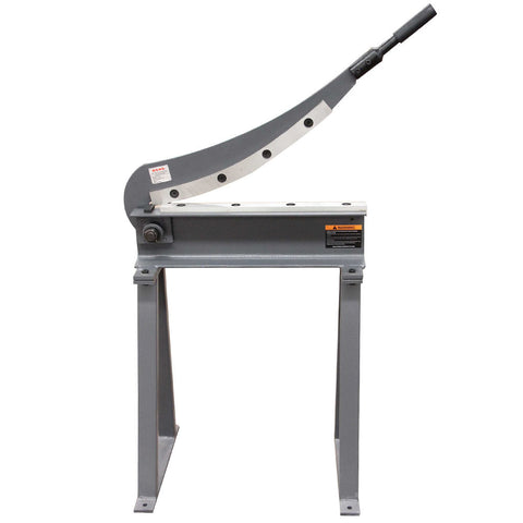 Kaka 20x16 Manual Guillotine Shear, Sheet Metal Plate Cutting Shear with Stand