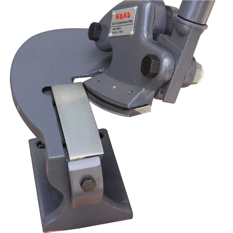 KAKAIND MMS-4 Multiple-Purpose Throatless Sheet Metal Shear Cutter with 14 Gauge