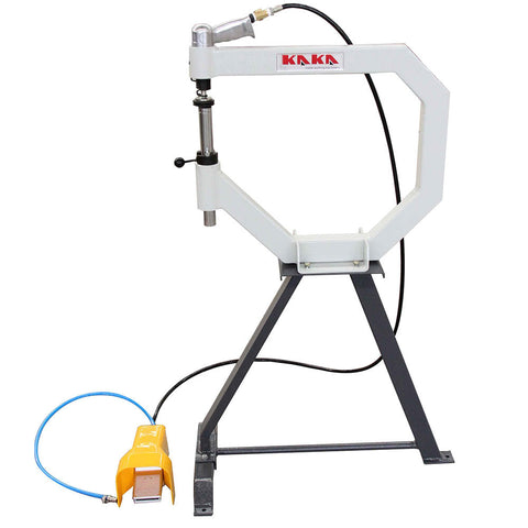 KAKA Industrial 19-In Throat Pneumatic Planishing Hammer with Cast-Iron Stand