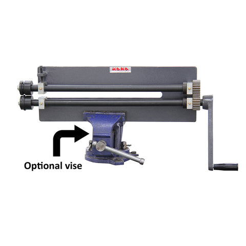 "Kaka 18"" Throat Sheet Metal Fabrication Bead Roller Kit, Slip Roll Machine-RM-18"