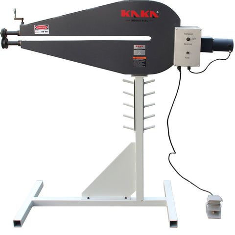 "KANG RM-36 Power Bead Roller Machine with Adjustable Depth Stop, 240V,  36"" Throat Depth"