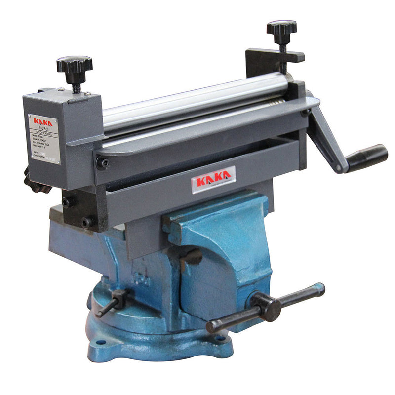 KAKA SJ300 Slip Roll Machine, 300MM Forming Width, 20 Gauge Capacity