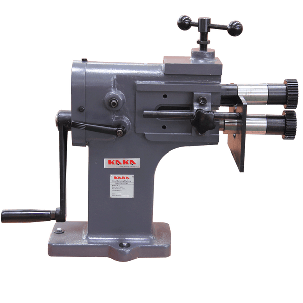 Kaka TB-12 200mm Heavy-Duty Bead Bender, 1.2mm Thickness, Cast-Iron Sheet Metal Rotary Forming Machine