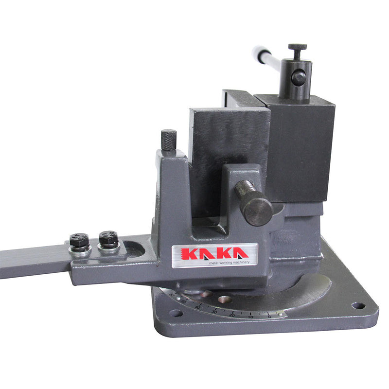 KAKA UB-100 Universal Bender, High Capacity Cast-Iron Hot & Cold Metal Bar Bender