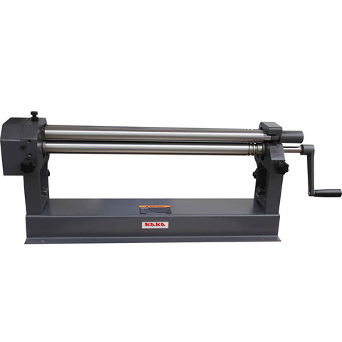 KAKA 24-In Slip Roll Machine, 22 Gauge, Solid Sheet Metal Slip Roll Machine