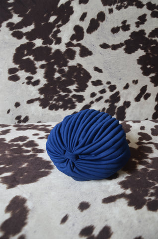 Deco Electric Blue Hat