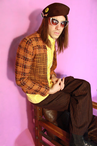 UNISEX 'Desigual' Plaid Jacket