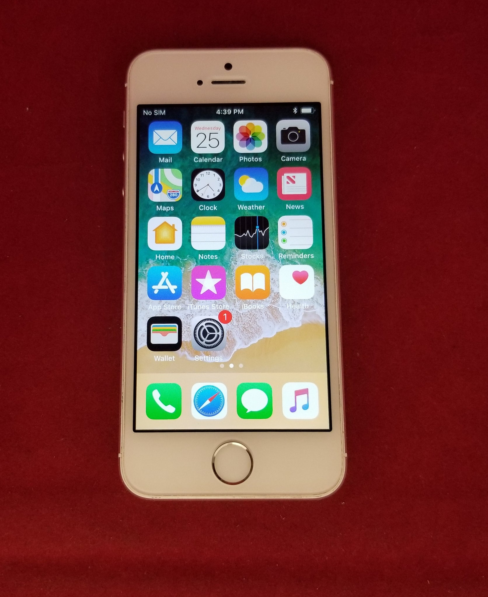 Apple Iphone 5s 64gb T Mobile Silver Smartphone 32gb Unlocked