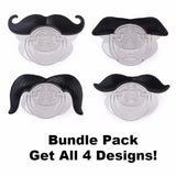 Mustache Pacifier - Turning cute in to adorable!