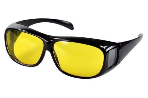 NIGHTWATCH™ Night Vision Anti-Glare Wraparound Glasses for Bright & Safe Night Time Driving ------ (WITH FREE WORLDWIDE SHIPPING!)