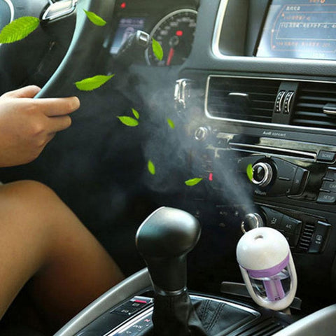 UltrasonicHumidifier™ - The Car Air Purifier With Aromatherapy Diffuser Guaranteed To Improve Your Trips - FREE WORLDWIDE SHIPPING