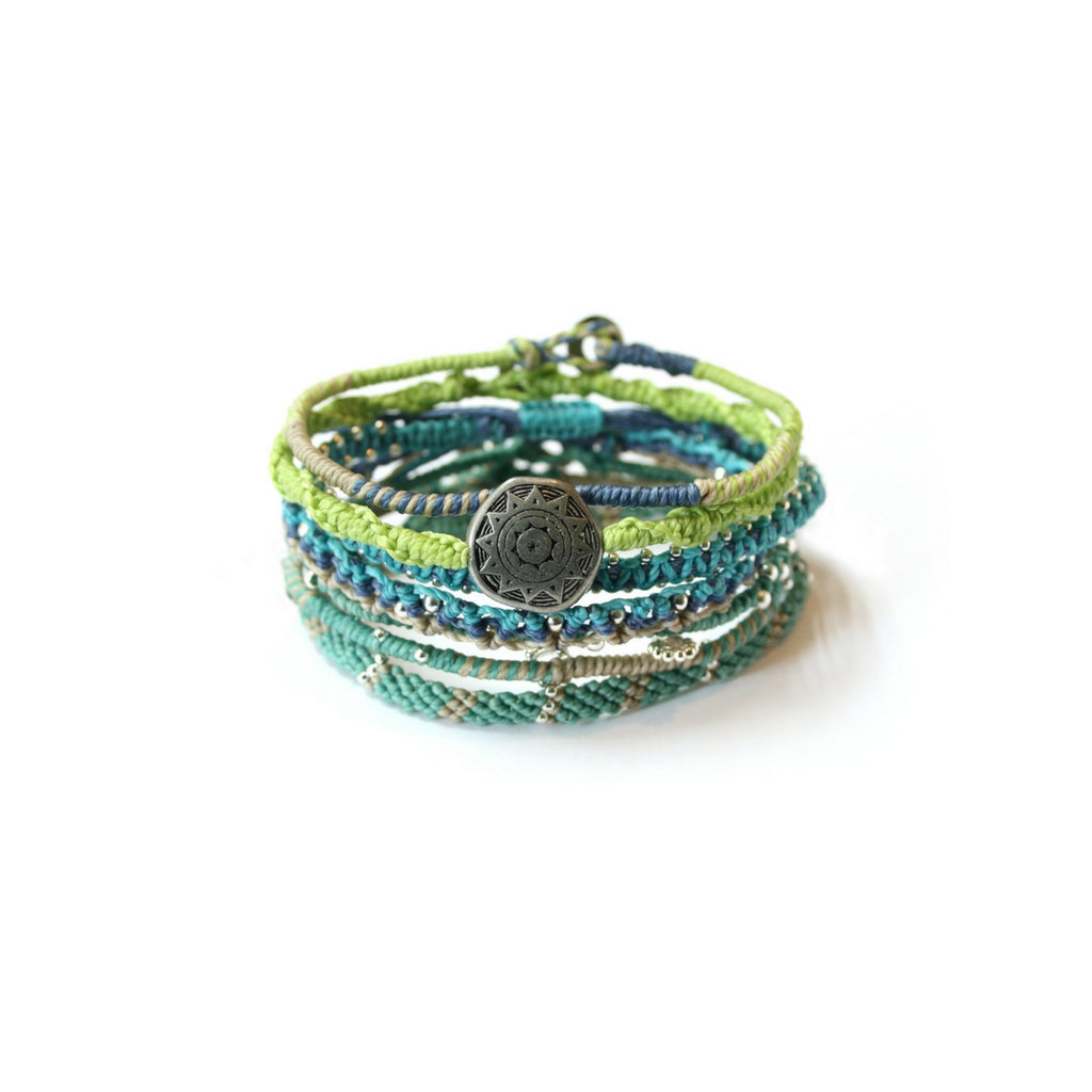 Earth Bracelet- Sea Breeze