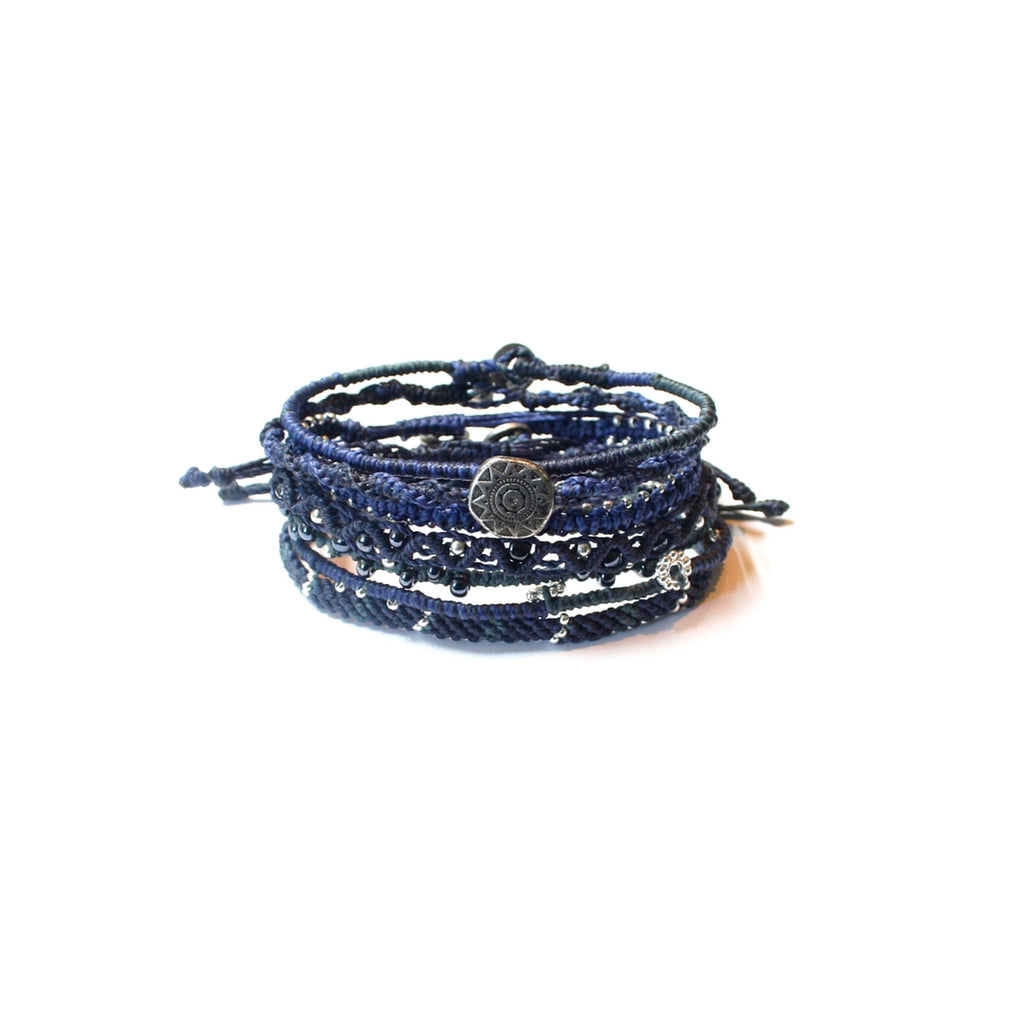 Earth Bracelet- Ocean Blue