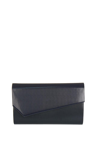 Arwena genuine leather envelope clutch bag