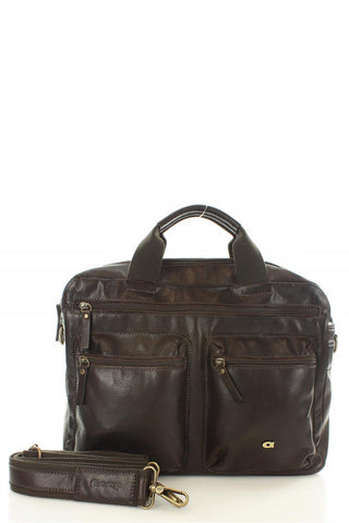 Natural leather bag model 109232 Daag