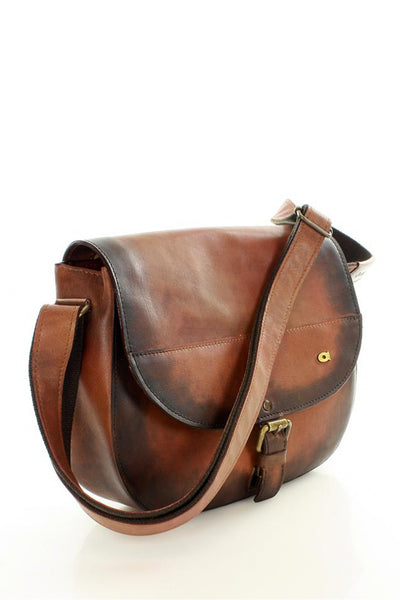 Natural leather bag model 109234 Daag
