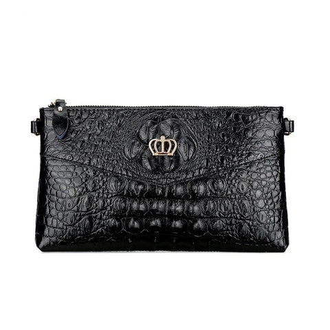 Petra genuine leather clutch bag