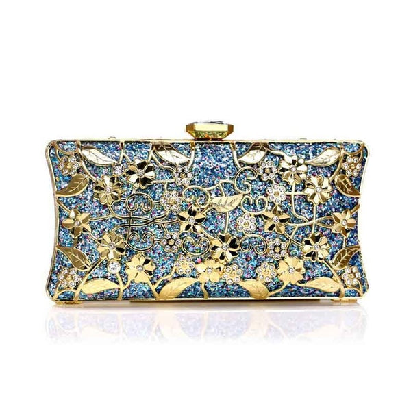 Cassia polyester clutch