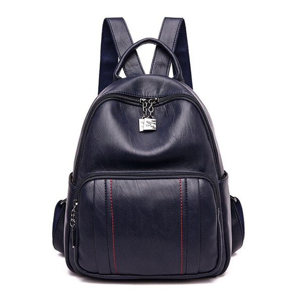 Wendy PU leather backpack