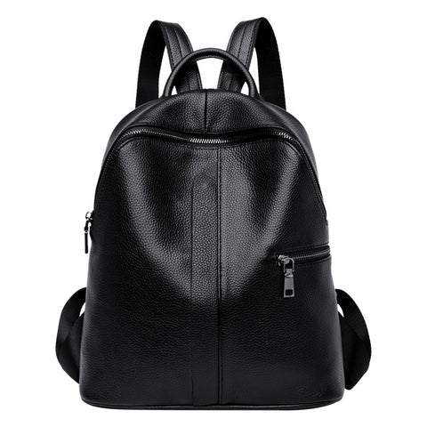 Wahida genuine leather backpack