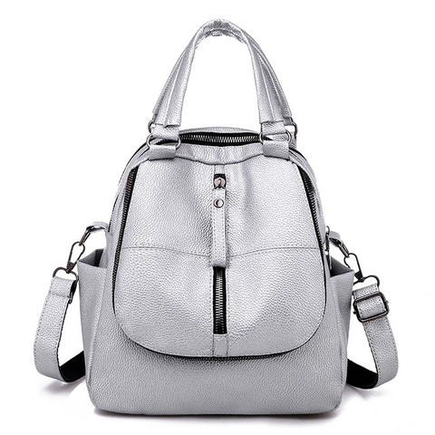 Cahya PU leather backpack