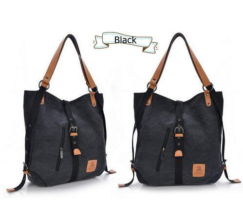Talisha canvas backpack