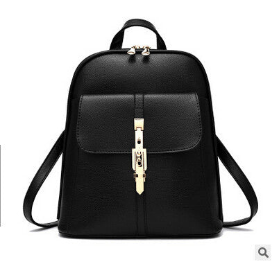 Sal PU leather backpack