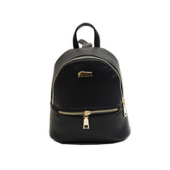 Oliva PU leather backpack
