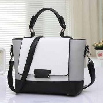 Raphaela PU leather satchel bag
