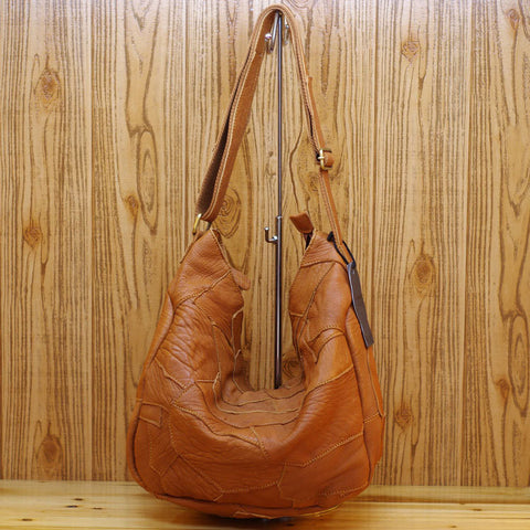 Talulla sheepskin hobo bag
