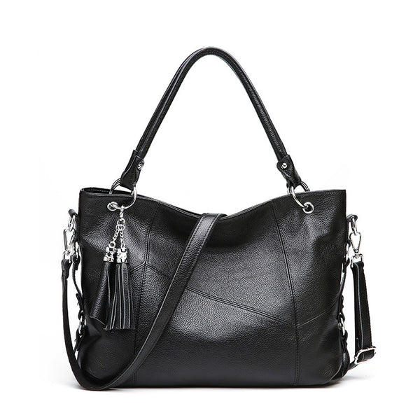 Iovita genuine leather satchel handbag