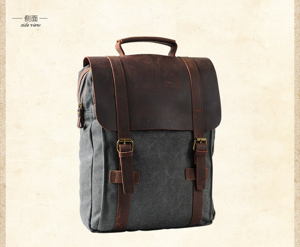 Taina canvas backpack