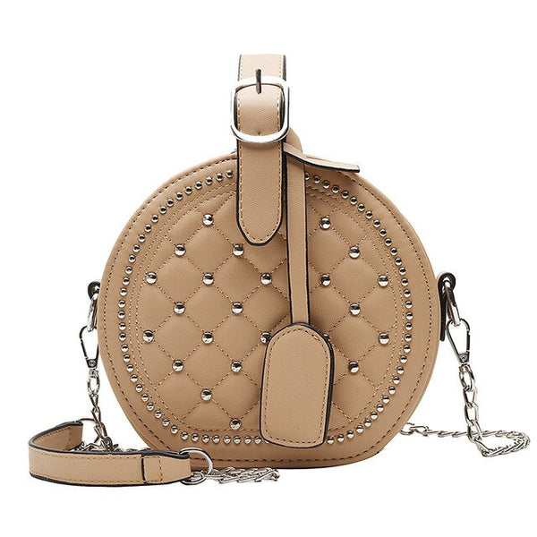 Katia PU leather cross-body handbag