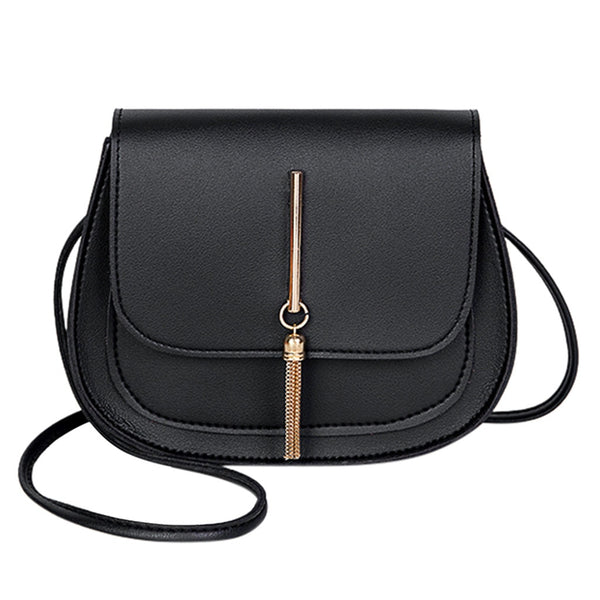 Jemma PU leather cross-body handbag