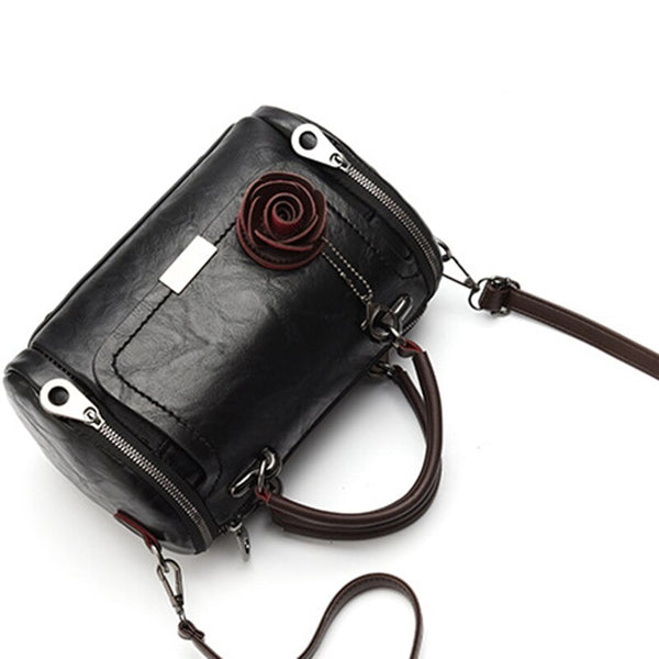 Thalia PU leather cross-body handbag