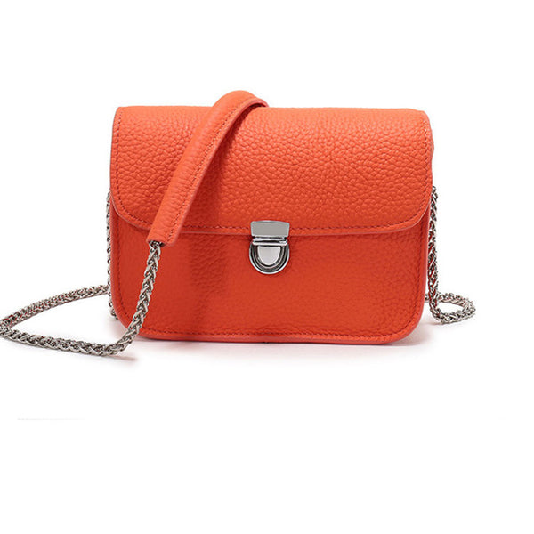 Scilla genuine leather cross-body handbag