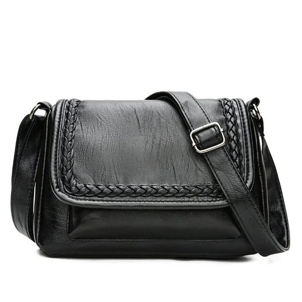 Akira genuine leather cross-body handbag
