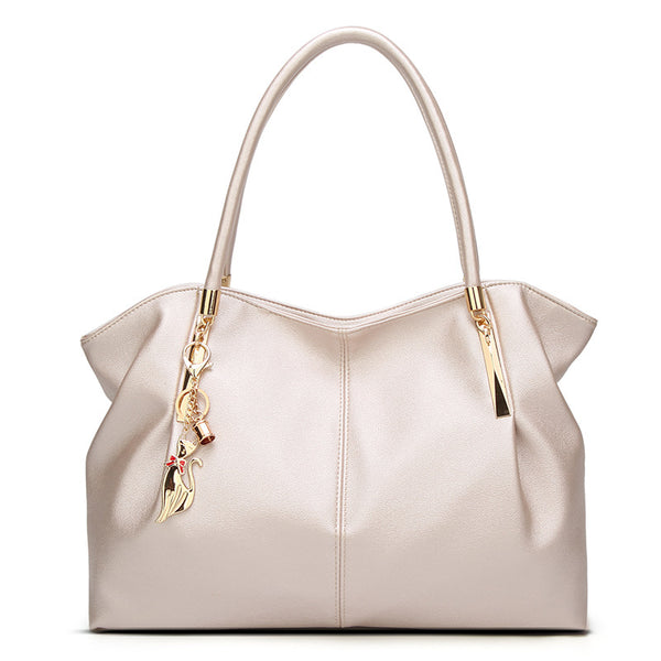 Thea PU leather bucket handbag