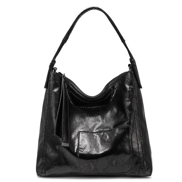 Nana PU leather tote handbag